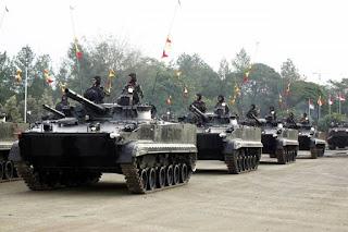 Tank Amfibi BMP-3F