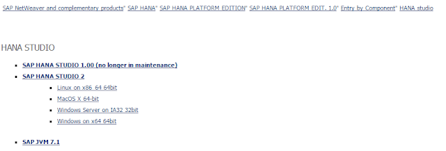 SAP-Software-Download-Center-Download-Catalog-NetWeaver-SAP-HANA-Platform-HANA-Studio-2