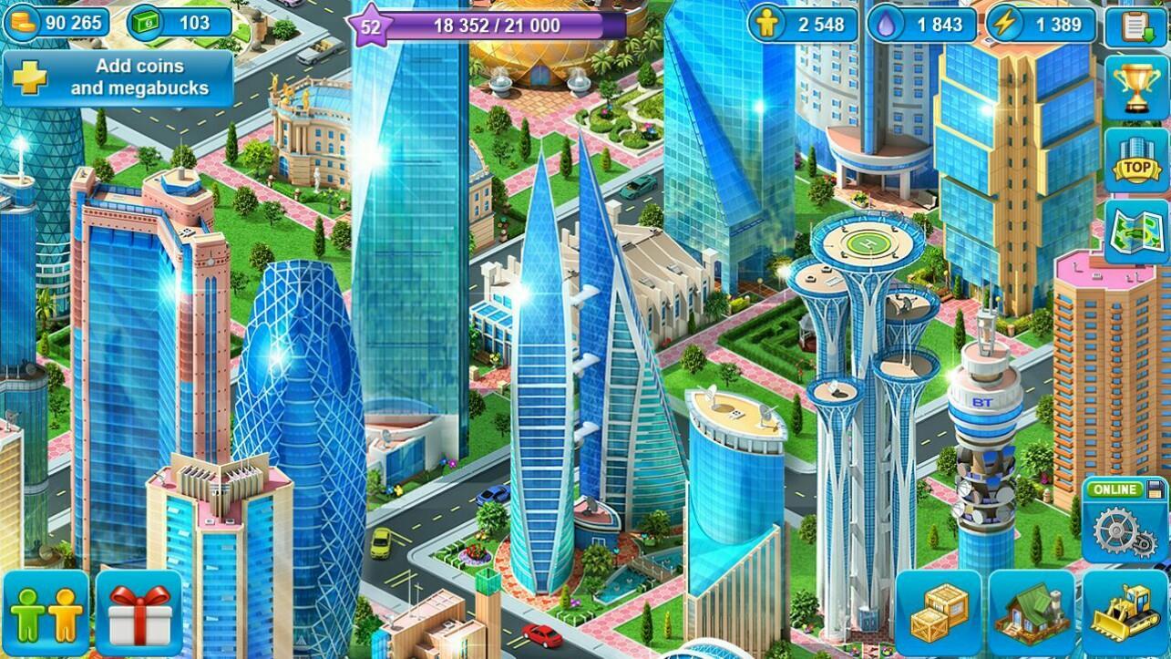 Game membangun kota Android online