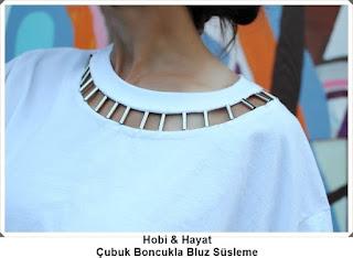 Bluz Süsleme - Giysi Süsleme - Moda Tasarım