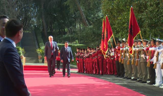 Zoran Zaev visits Albania: Skopje and Tirana are getting ready for EU membership