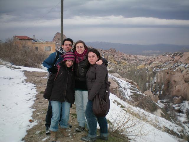 Nieva en Capadocia