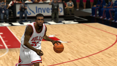 NBA 2K13 Jimmy Butler Bulls Playoffs Hairstyle