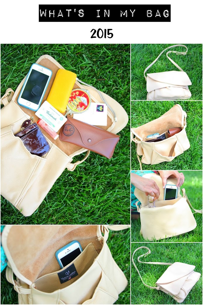 What's in your bag, Victoria Leather Company, Tanvii.com