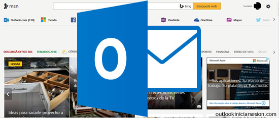 usar MSN en Outlook.com