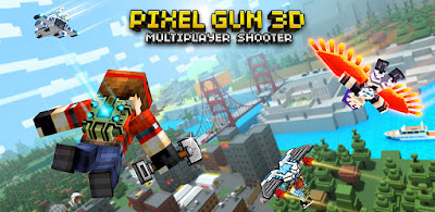 Pixel Gun 3D (Pocket Edition) APK + OBB (Full) v15.4.1 Offline