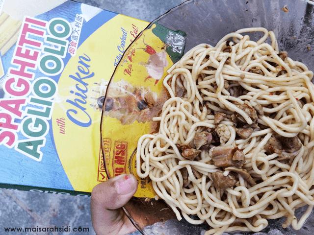 Spaghetti Segera Master Pasto Aglio