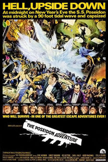 original Poseidon Adventure 1972 film poster