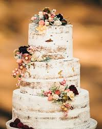 Pasteles de Boda, Naked Cake