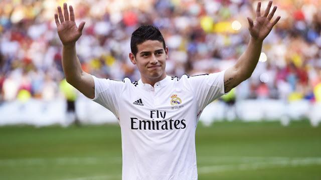Arsenal mới là đội bóng dẫn đầu trong thương vụ James Rodriguez