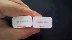 Cara Membedakan Charger Samsung Asli dan Palsu