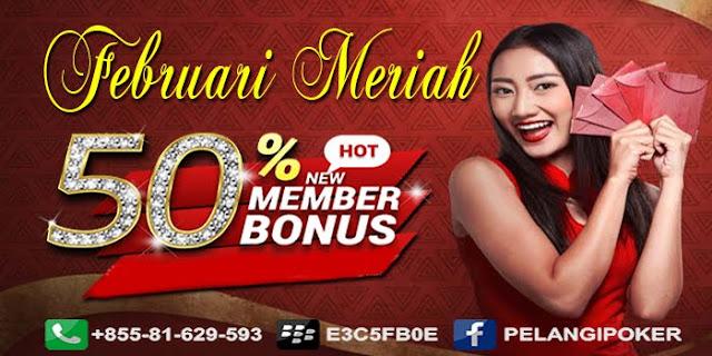 Bonus-Deposit-New-Member-50%-Pelangi-Poker