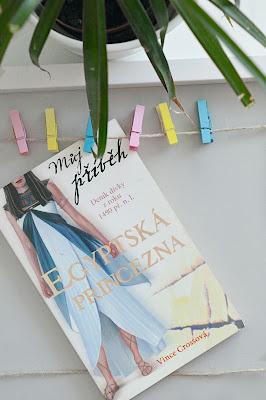 Egyptská princezna knížka.