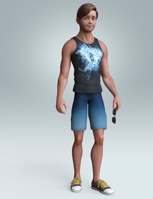 Stylized Matt Bundle for Genesis 3 Male