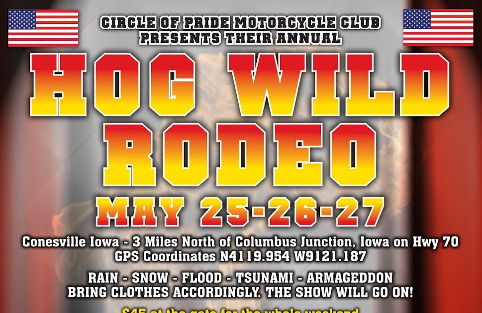 Lowrider In The Wind Conesville Hog Wild Rodeo