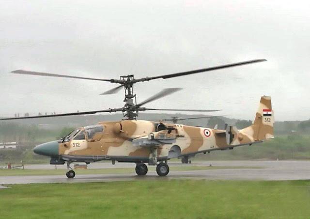 Вертолет КА-52 ВВС Египта