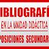BIBLIOGRAFÍA, WEBGRAFÍA Y LEGISLACIÓN UNIDAD DIDÁCTICA OPOSICIONES SECUNDARIA