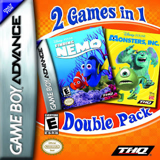 2 Games in 1: Finding Nemo + Monsters Inc. cover