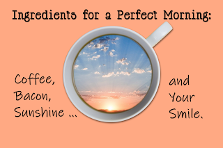 Freebie: Ingredients for a perfect morning:. Hope this warms you up!