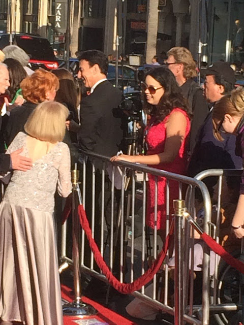 Raquel Stecher & Lillian Michelson 2016 TCM Classic Film Festival Red Carpet