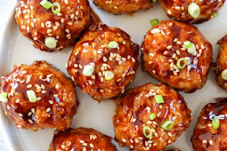 Asian Glazed Chicken Meatballs Good Recipe