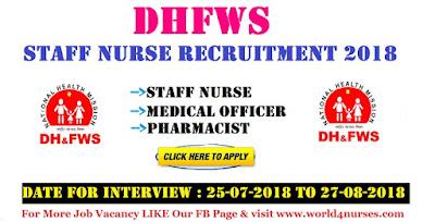 DHFWS Staff Nurse Recruitment 2018