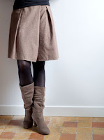 patron jupe-culotte muscade Christelle Beneytout Coud
