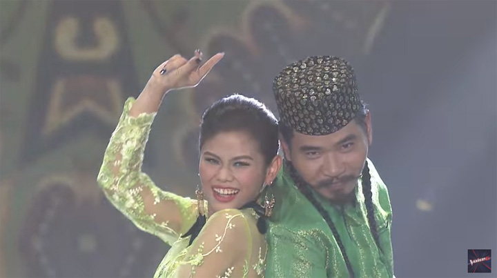Persembahan Pathita & Saran, Dikir Puteri dalam The Voice Thailand 2018