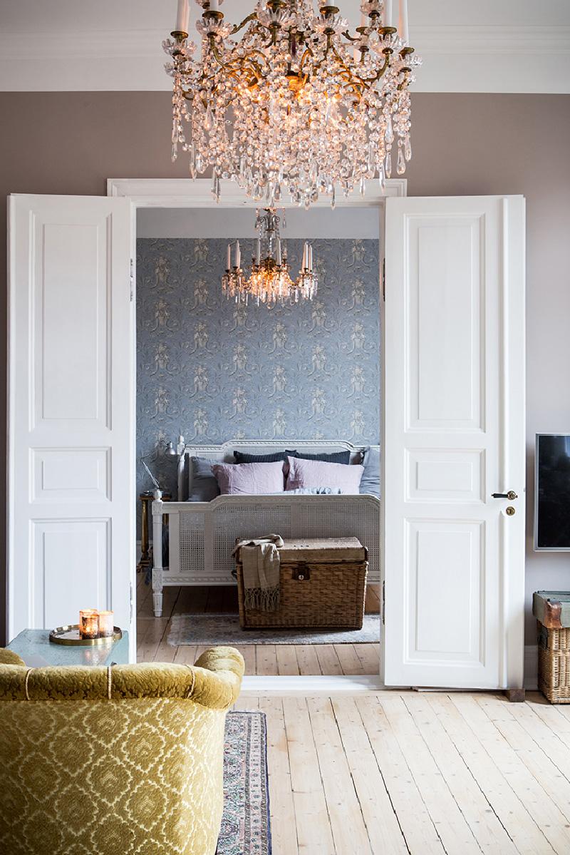 Arredare piccoli spazi 58 mq di pura eleganza a Goteborg camera soggiorno
