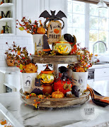 Halloween & Fall Tiered Trays