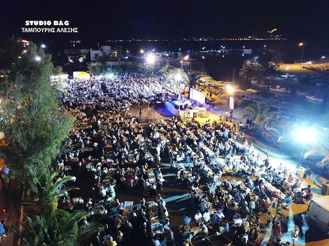 Αργολίδα: Πλήθος κόσμου στη Γιορτή της θάλασσας στη Νέα Κίο