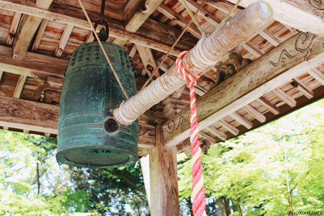 兵庫県丹波市柏原町観光 八幡神社 難逃れの鐘