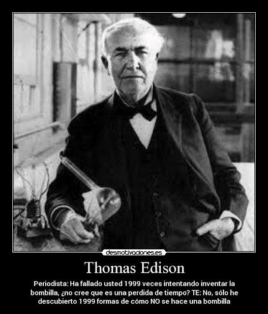 """""""Frase Thomas Edison"""""""