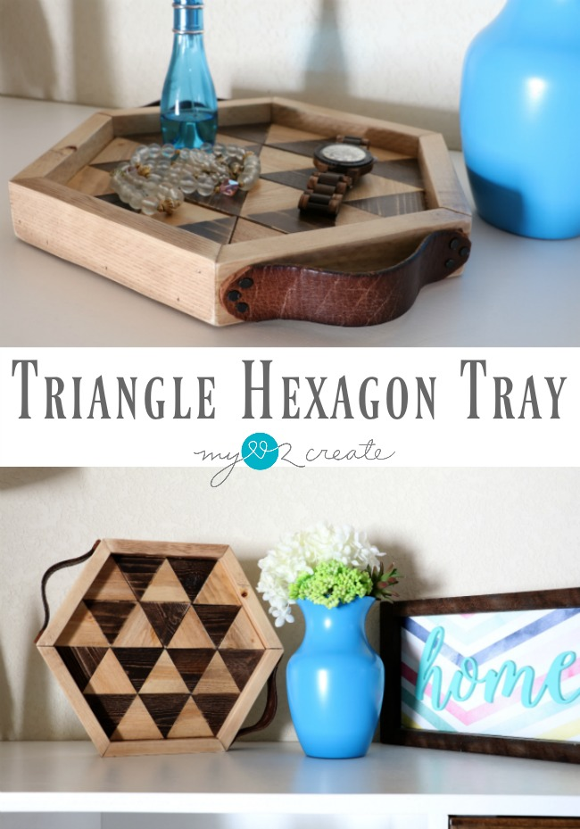 Make a Triangle Hexagon Tray