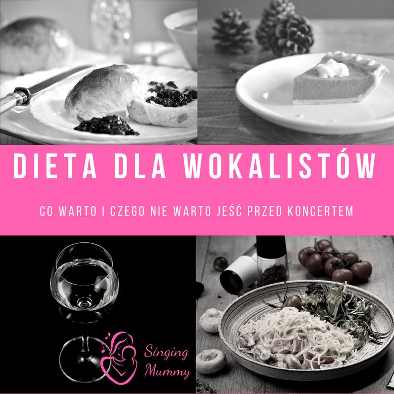 Dieta dla wokalistów-czego nie jeść i co jeść przed koncertem.