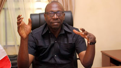 PDP's Ize-Iyamu Reacts to Obaseki's Victory [video]