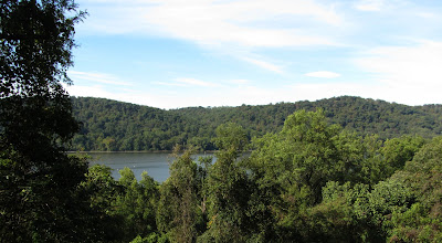 View of the Susquehanna River from the trail
