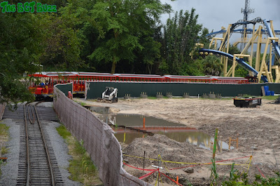 Busch Gardens Tampa Project 2016 : Construction Update #7
