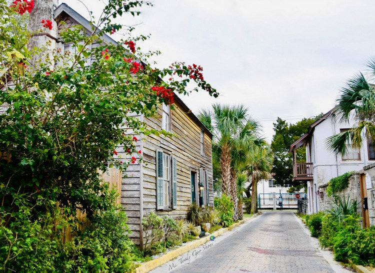 Aviles Street - the oldest street in the US - One of 8 Things To Do in St. Augustine, Florida | Ms. Toody Goo Shoes