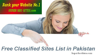 Free Classified Sites List in Pakistan