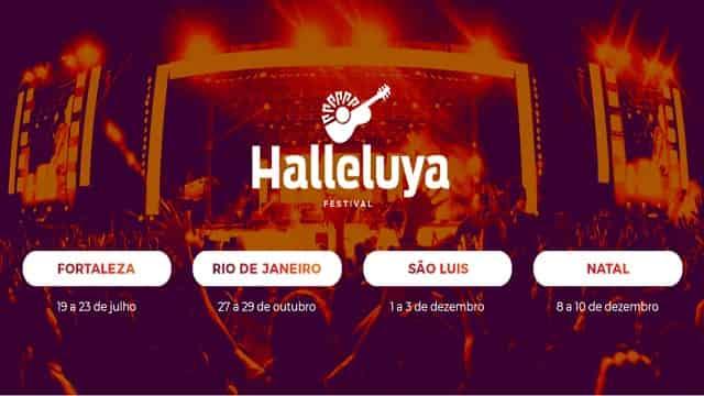 2a8043148cb Festival Halleluya começa nesta sexta