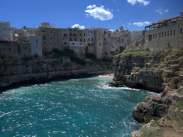 lazurowa woda, morze, Włochy, wakacje