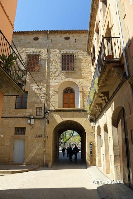 Portal del castillo, Solsona