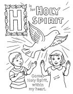 holy spirit coloring pages - clo tallulah the church dogs it 39 s confirmation time
