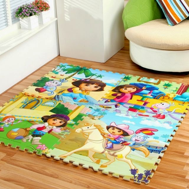 Puzzle mat flooring awesome foam puzzle floor mats and rugs for Flooring for child s bedroom