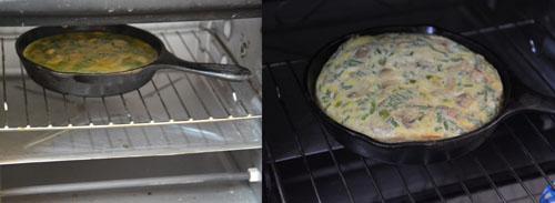 Oven Baked Mushroom Frittata