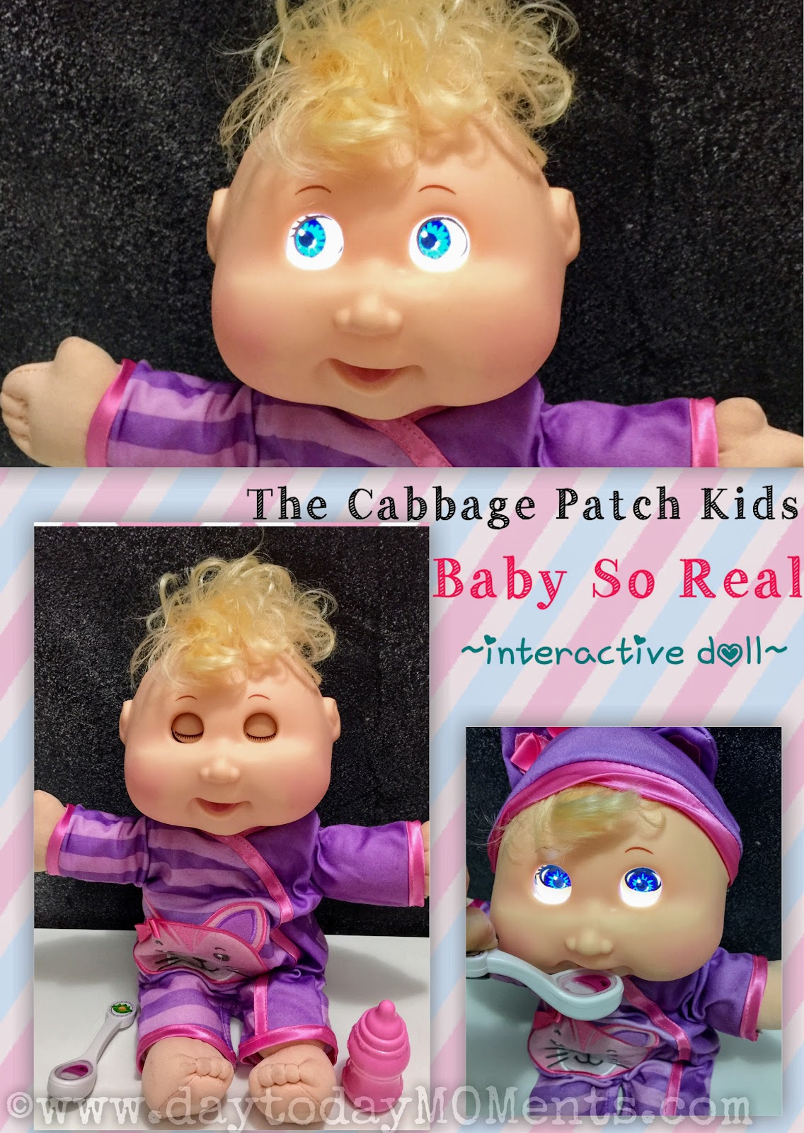 Day to day moments cabbage patch kids baby so real doll cabbage patch kids baby so real doll review aiddatafo Images