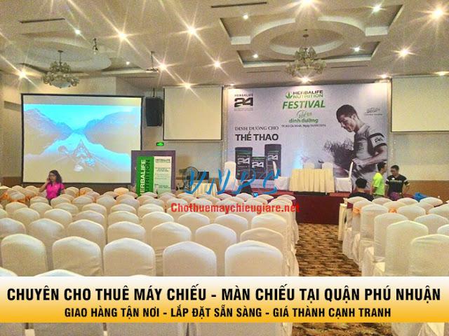 thuê máy chiếu và màn chiếu tại Quận Phú Nhuận