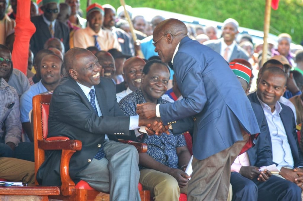 Image result for khalwale wth Ruto