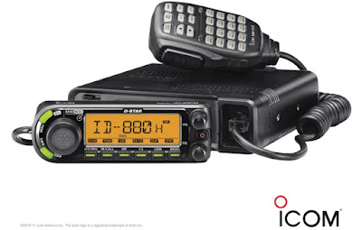 VA3AGV DSTAR ID-880H VHF and UHF Digital Transceiver